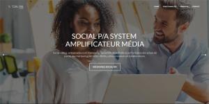 Amplification sociale crowdlending